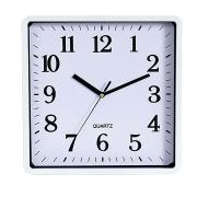 Carven Wall square Clock White
