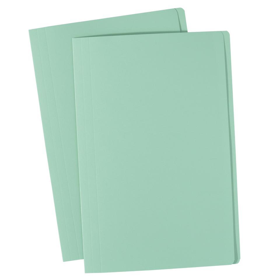 Avery Manilla Folder Foolscap 355 x 241 mm Light Green Each