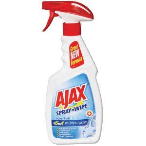 Ajax Spray N Wipe Ocean Fresh Antibacterial Trigger 500ml