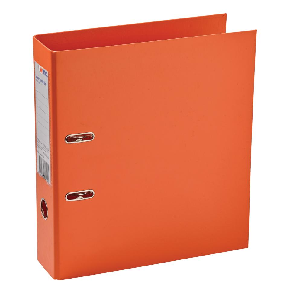 Winc Lever Arch File PP A4 Orange