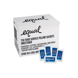 Equal Sweetener Single Serve Sachets 1g Carton 750