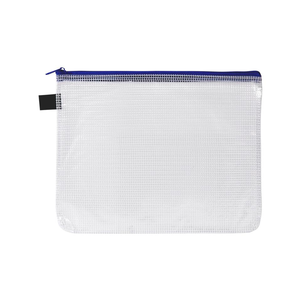 Avery Handy Pouch With Zip A5 Blue
