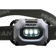 Pelican 2745 Led Headlamp Torch Hi Low Beam 3Xaaa  Submersable Safety Approved 33 Lumens Each