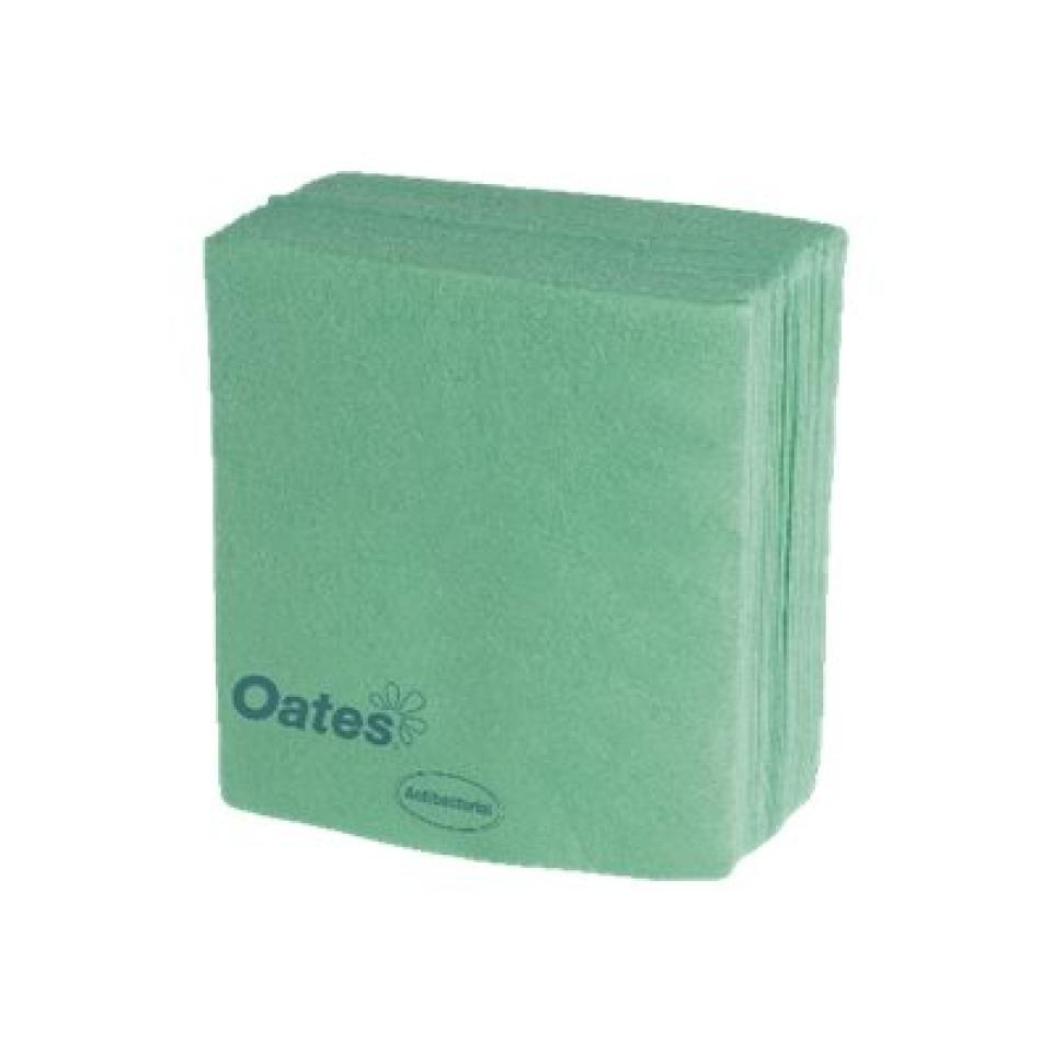 Oates Hw003g Heavy Duty Wipes 38X40cm Green Pack 20