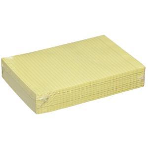 Winc Writing Pad A4 Ruled Bond 70gsm Yellow 50 Sheets Box 10