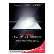 GBC A5 80 Micron Gloss Laminating Pouches Pack 100