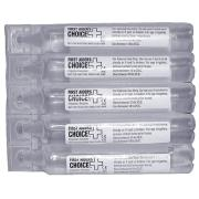 Brady 870358 Sodium Chloride 20ml Clear Pk5