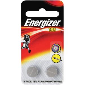 Energizer 186 1.5V Alkaline Coin Battery Pack 2