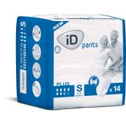 Ontex Id Pants Plus S Pack 14x8