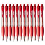Winc Retractable Ballpoint Pen Fine 0.7mm Red Box 12