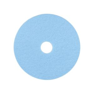 3M 3050 High Performance Burnishing Pad Sky Blue 61cm Each