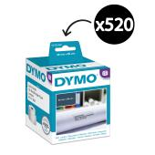 Dymo LabelWriter Address Labels 36mmx89mm White Box 520