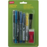Staples Writing Combination Ballpoint Pen Blue Box 8