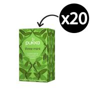 Pukka Three Mint Enveloped Tea Bags Pack 20