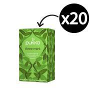 Pukka Three Mint Enveloped Tea Bags Pack 20