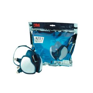 3m-4251 A1P2 Maintance Free Half Face Respirator