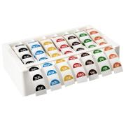 Avery Food Rotation Day Label Plastic Dispenser Kit With 7 Rolls 24mm Day Labels Roll 1000