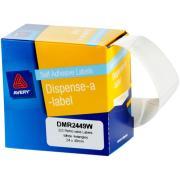Avery DMR2449W Dispenser Labels Rectangular 24x49mm White Box of 325