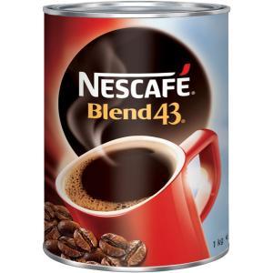 Nescafe Blend 43 Instant Coffee Tin 1kg