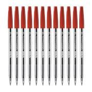 Artline Smoove Ballpoint Pen Medium 1.0mm Red Box 12