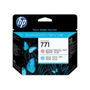 HP 771 Light Magenta & Light Cyan Printhead - CE019A