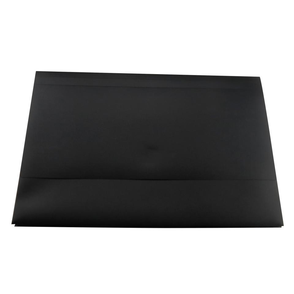 Winc Polypropylene Document Wallet Hook & Loop Foolscap Opaque Black