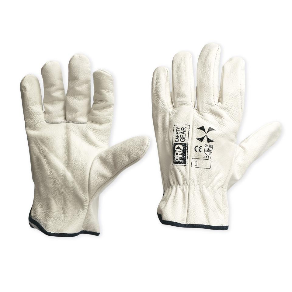 Paramount Safety Cgl41Ds Riggamate Riggers Gloves Revolution D Beige Pair
