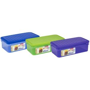 Decor Pumped Duo 3 Lunchbox Assorted Colours 1.5 Litre