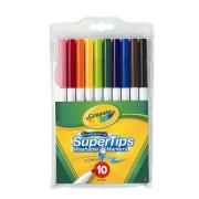 Crayola Supertip Coloured Markers Pack 10