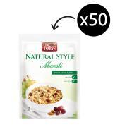 Uncle Tobys Natural Style Muesli Original Swiss Blend 40g Carton 50