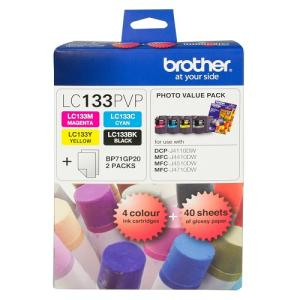 Brother LC133PVP Photo Value Pack