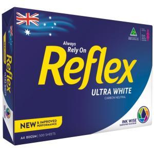 Reflex Ultra White A4 Copy Paper 80gsm Ream