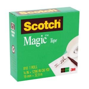 Scotch Magic 810 Tape 19mm x 32.9m