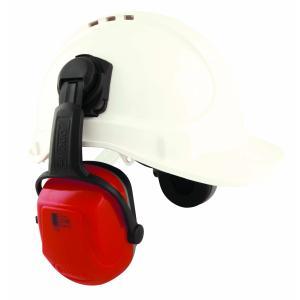 Unisafe Rbz3Ca Zone 3 Ng Cap Attach Earmuff Red Class 5 Slc80 30Db Each