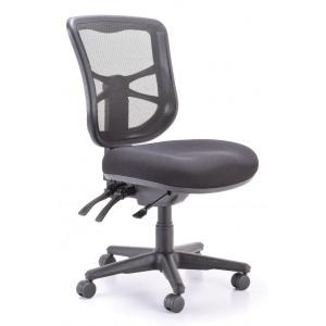 Buro Metro Task Chair With Nylon Base Without Arms Black