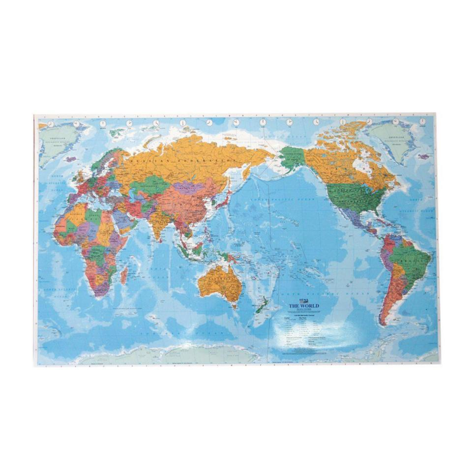 Micador Hema World Map Small 1010 X 635 mm