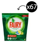 Fairy Autodish Tab All In One Lemon Pack 67
