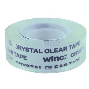 Winc Office Tape 18mmx33m Crystal Clear Roll