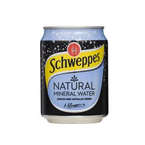 Schweppes mineral water 250ml can carton 24 staples now winc - Schweppes australia head office ...