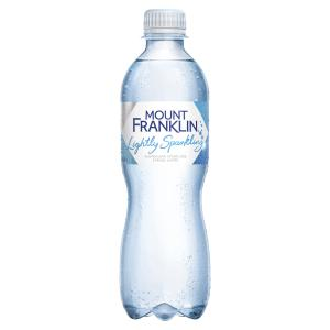 Mount Franklin Premium Lightly Sparkling 450ml Carton 24