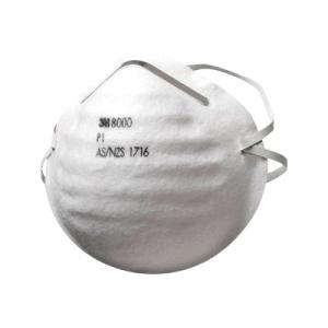 3m 8000 P1 Particulate Respirators 70071094703 Box-30