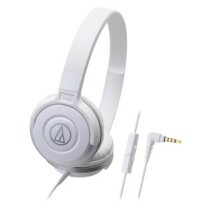 Audio-Technica S100iS S Series Street Headphones - White
