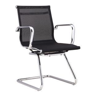 Madison Visitor Chair Mesh Black