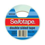 Sellotape 404 Double Sided Tape 18mm x 33m Roll