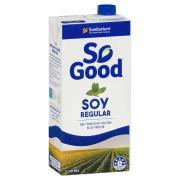 Sanitarium So Good UHT Regular Soy Milk 1 Litre