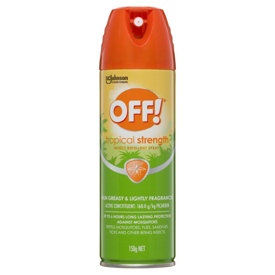 Off Tropical Insect Repellent Aerosol 150g
