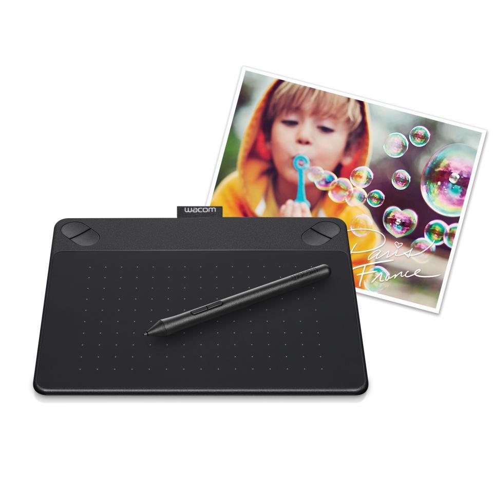 Wacom Intuos Photo Creative Pen & Touch Tablet - Small - Black