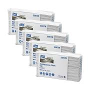 Tork 530178 Heavy-Duty Cleaning Cloth Folded W4 100 Sheets Carton 5