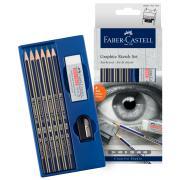 Faber-Castell Graphite Sketch Set of 6