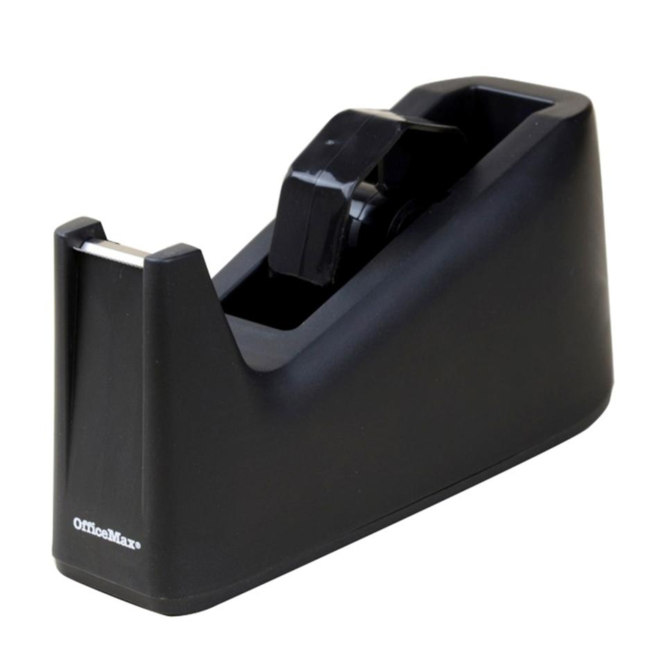 Officemax Desktop Tape Dispenser Large Black